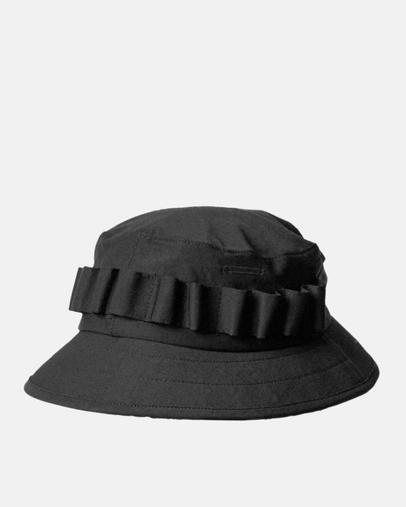 Fringe Jungle Hat (Black)