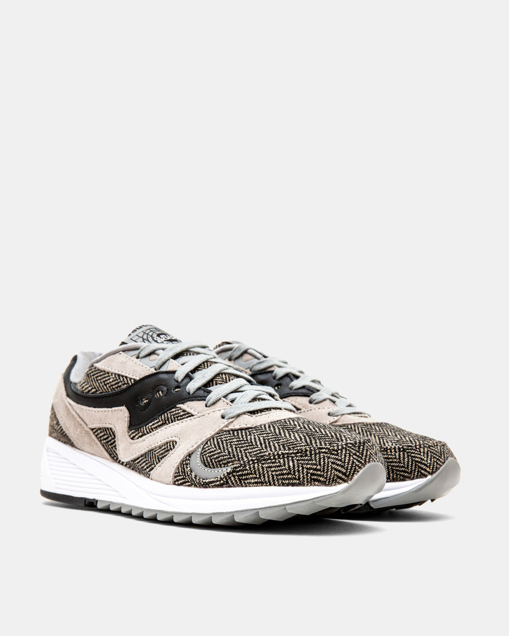 Saucony - Grid 8000 CL HT Tailored (Grey | Black)