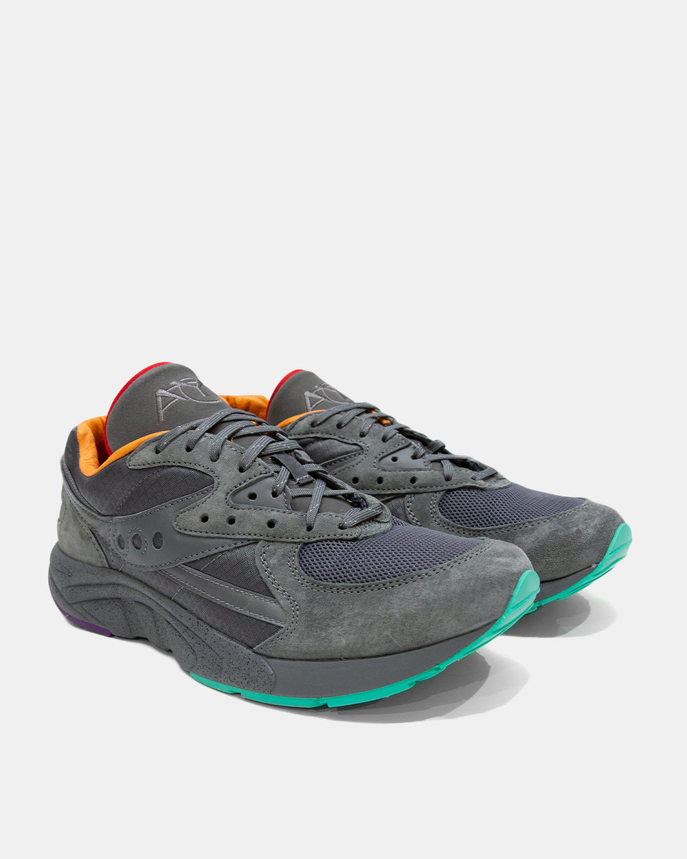 Saucony - Saucony x Raised by Wolves Aya (Grey | Multi)