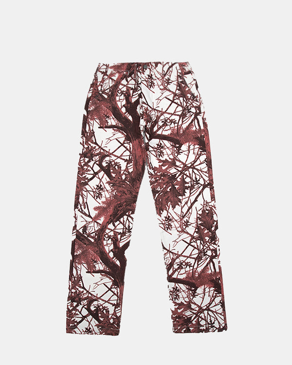 Blood Tree Pants (White | Red)