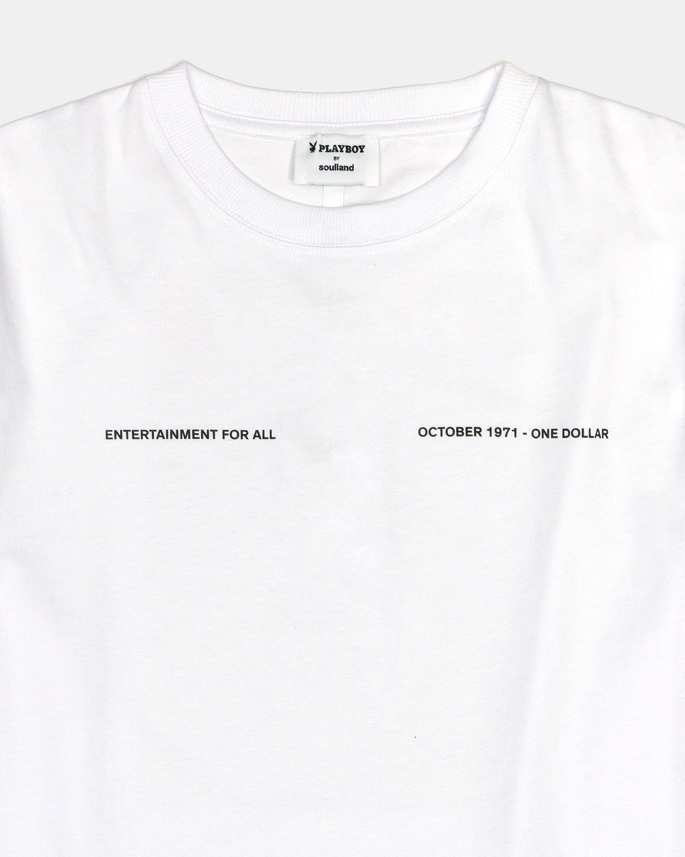 Soulland - Soulland Meets Playboy Monthly Tee October (White)