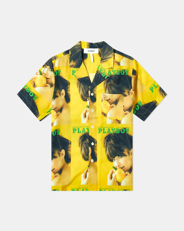 Orson Playboy Shirt (Yellow)