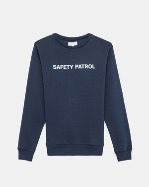 Soulland - Lee Sweatshirt Print (Navy)