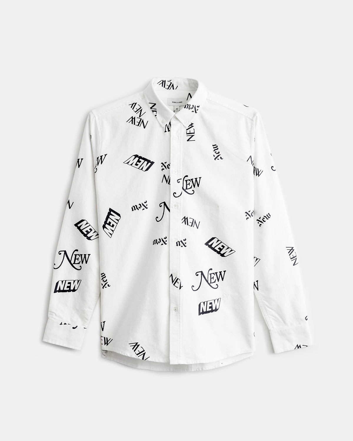 Soulland - All Shirt (White | All Over Print)