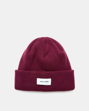 Soulland - Villy Beanie (Bordeaux)