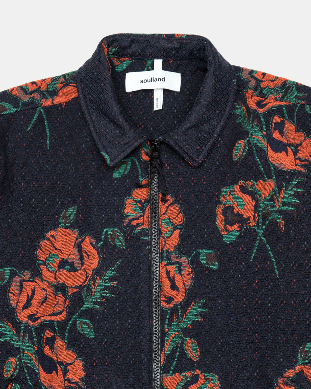 Soulland - Mapp Light Zip Jacket (Floral)