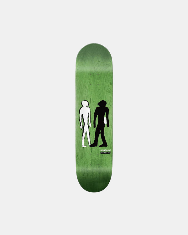 Soulland Meets Numbers Rodrigo Skate Deck (Multi)