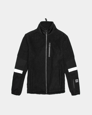 Soulland - Soulland x 66 North Gardabaer Fleece Jacket (Black)