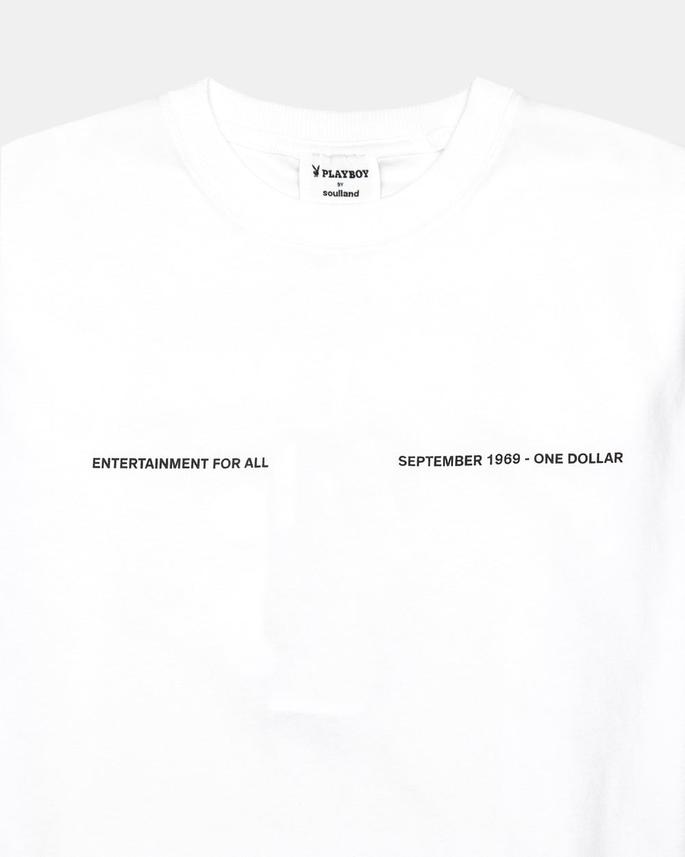 Soulland - Soulland Meets Playboy Monthly Tee September (White)