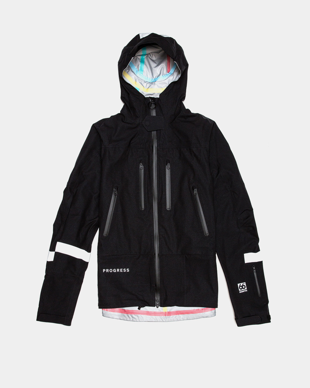 Soulland - Soulland x 66 North Vala Shell Jacket (Black)