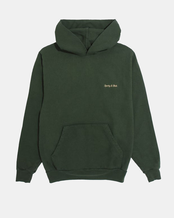 Classic Logo Hoodie (Forest Green | Gold)