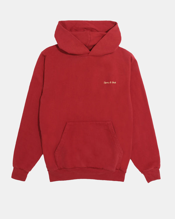 Classic Logo Hoodie (Varsity Red | Gold)
