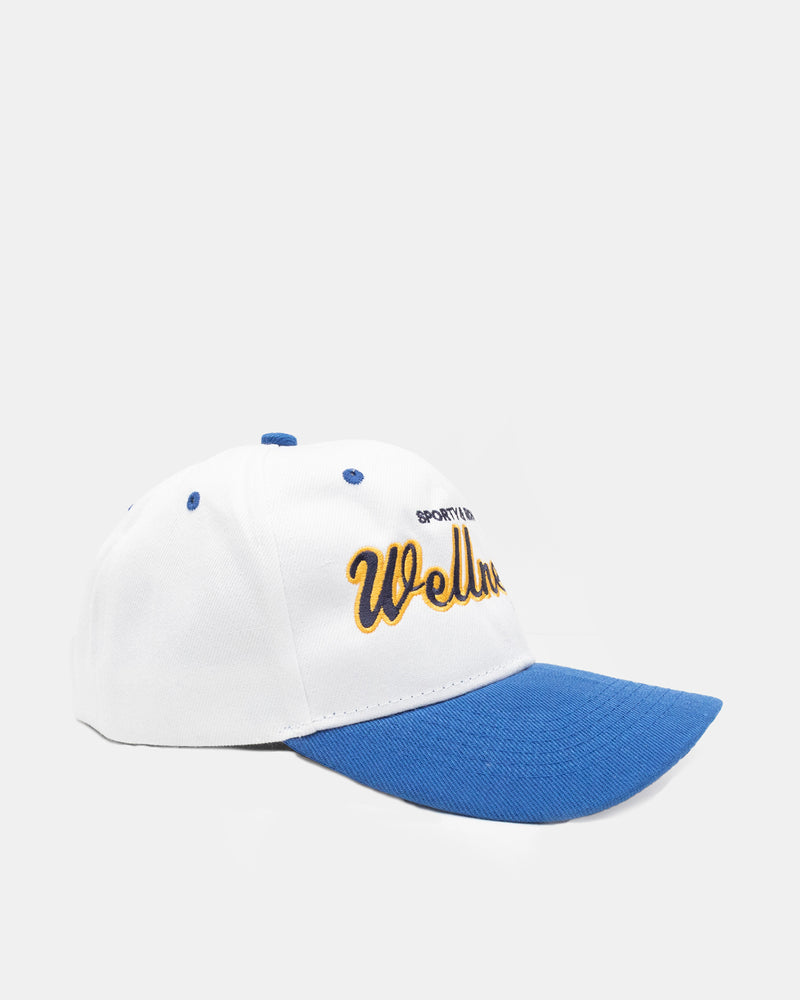 Sports Logo Hat (White | Blue)
