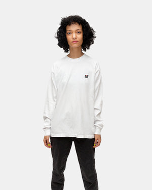 Sporty & Rich - Women's Less But Better Long Sleeve Tee (White)