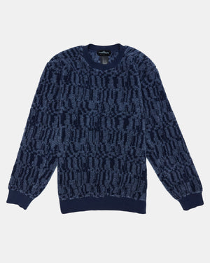 Stone Island - Shadow Project 60507 Crewneck (Navy)