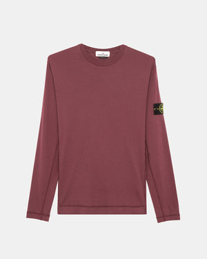 Stone Island - Long Sleeve Tee (Burgundy)