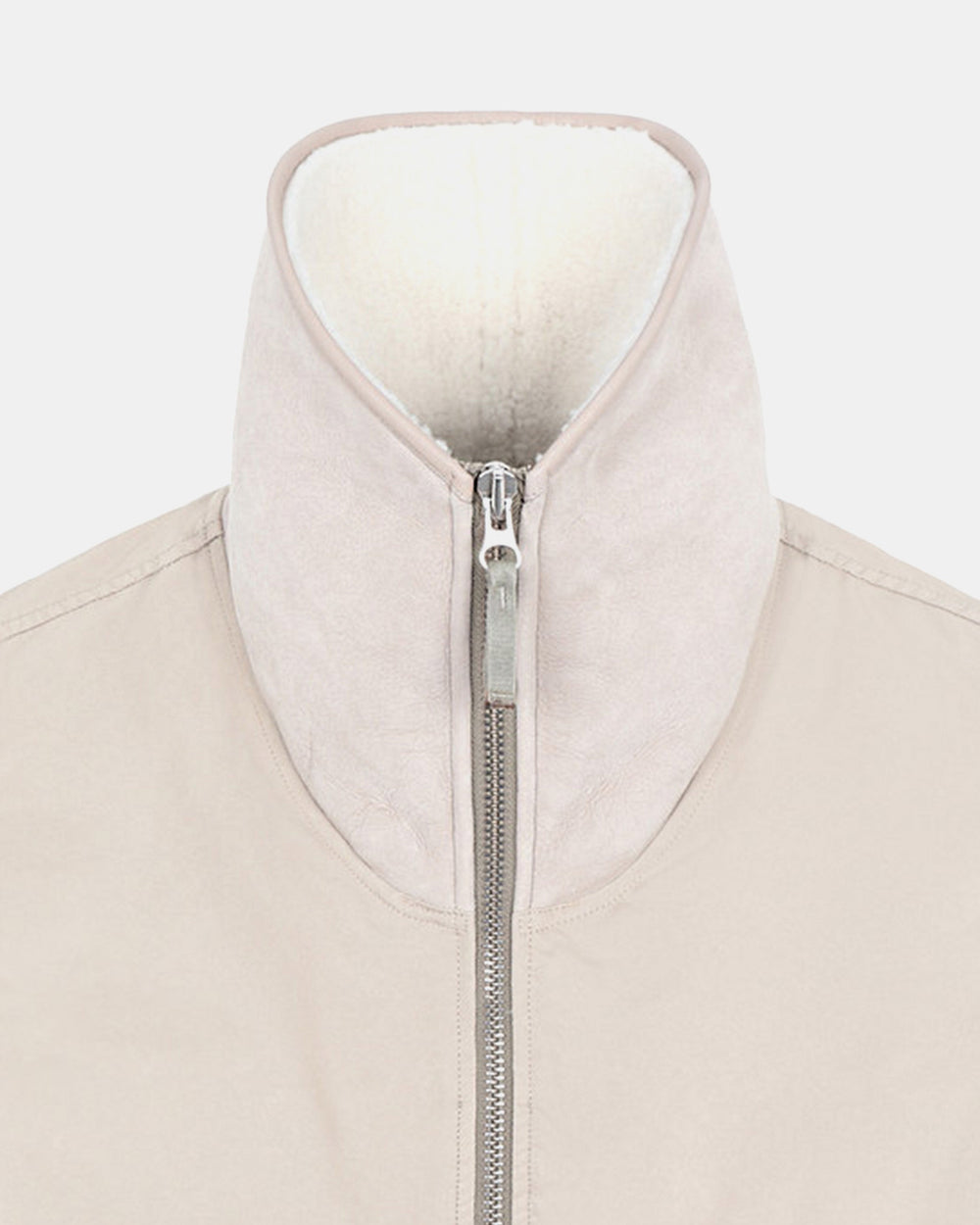 Stone Island - G0448 David-TC Down with Sheepskin Fleece Vest (Sand)