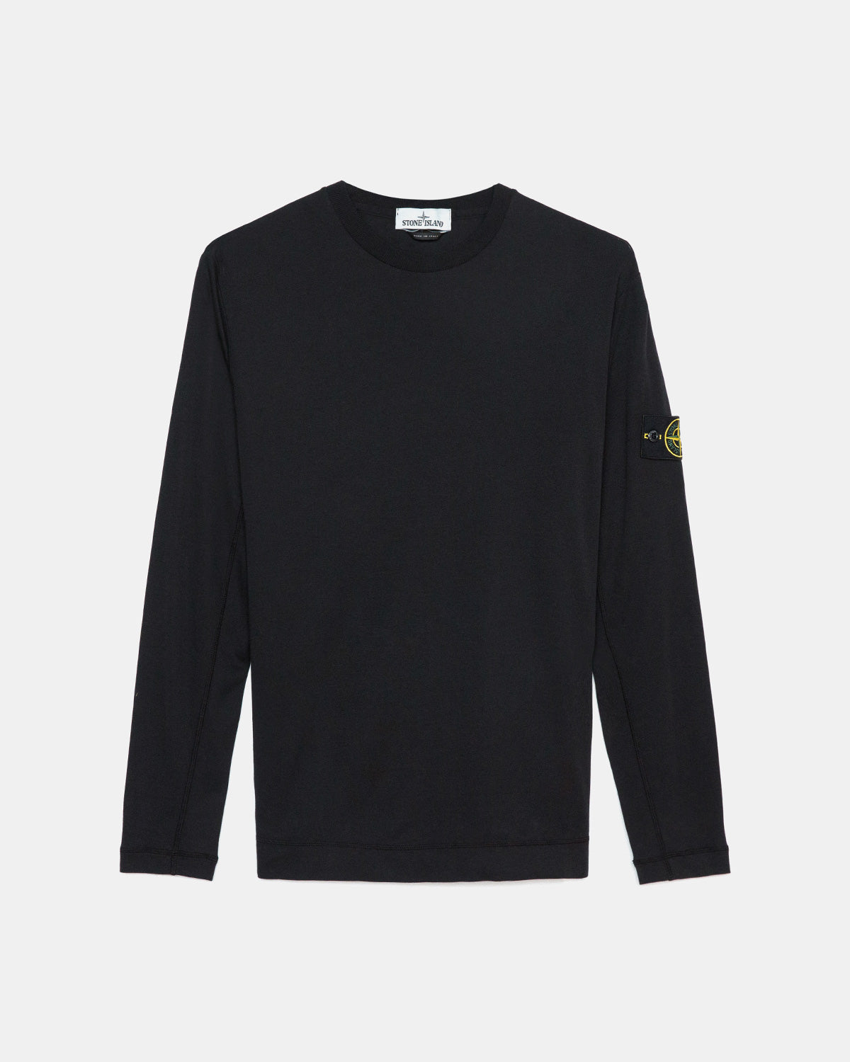 Stone Island - Long Sleeve Tee (Black)