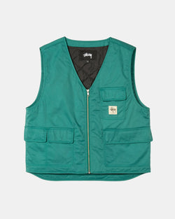 Insulated Work Vest (Teal)
