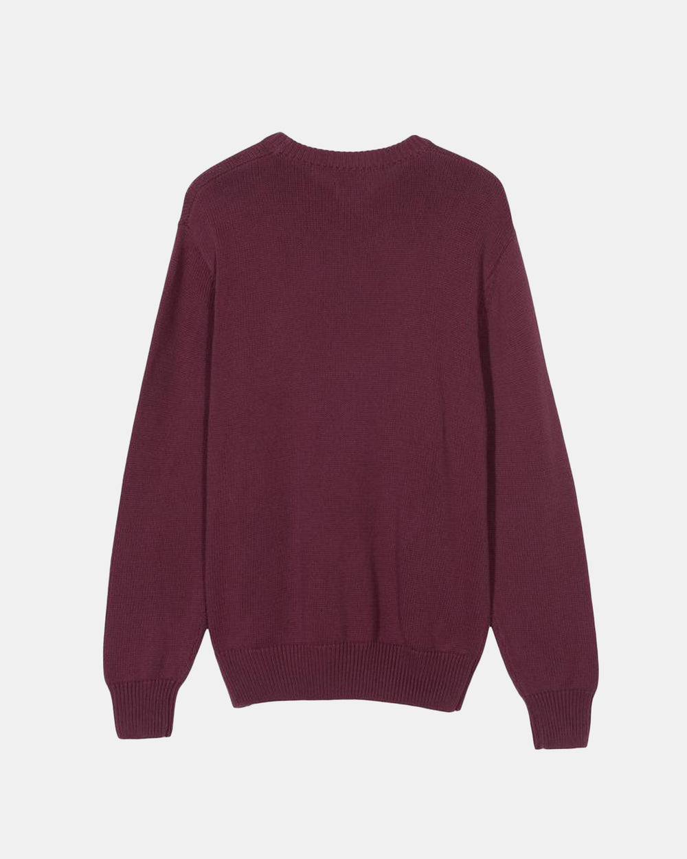 Stussy - Curly Stussy Sweater (Burgundy | Blue)
