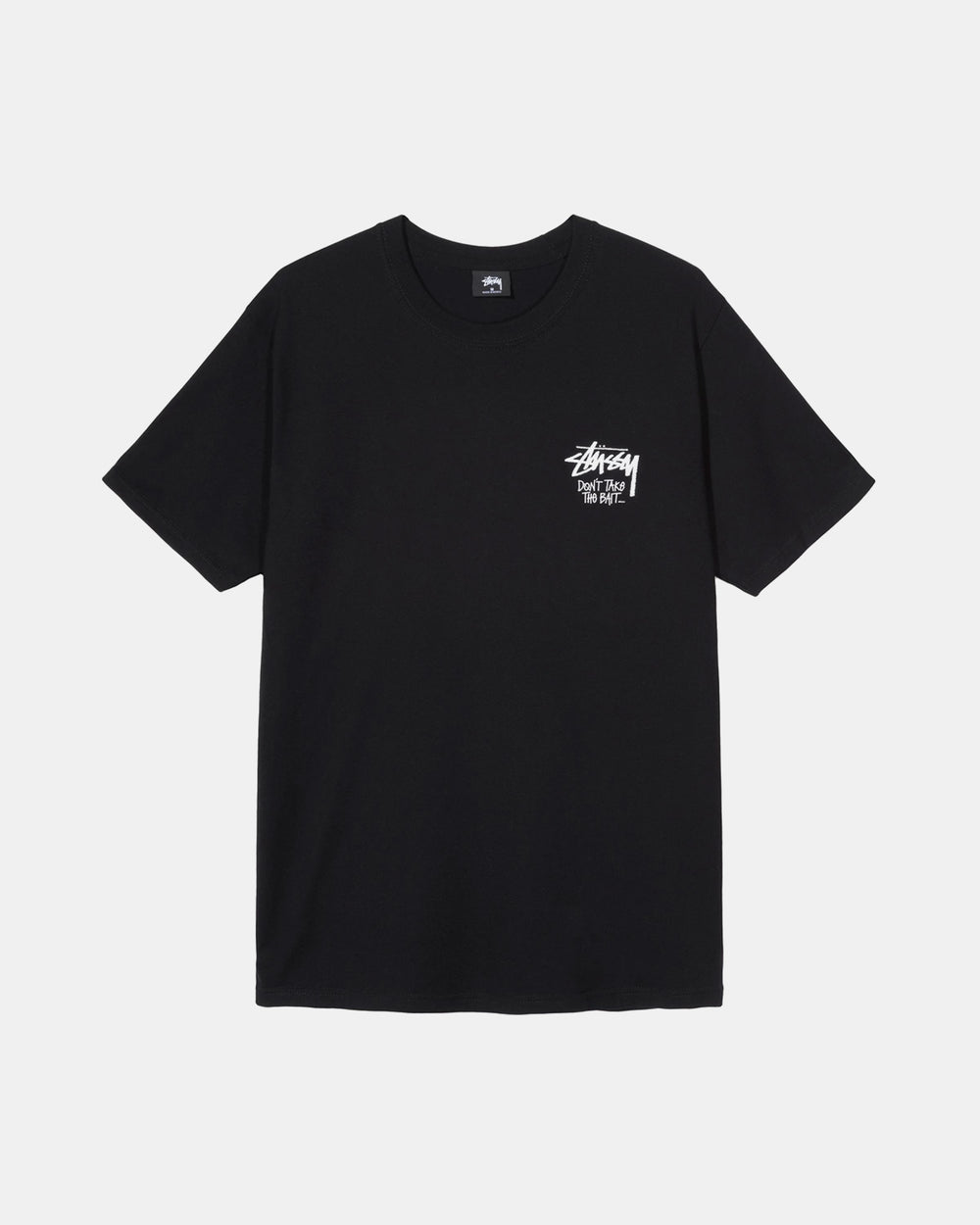 Stussy - Don't Take the Bait Tee (Black)