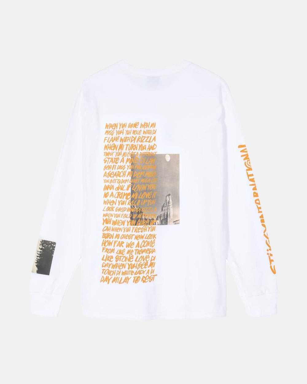 Stussy - Great Outdoors Long Sleeve Tee (White)