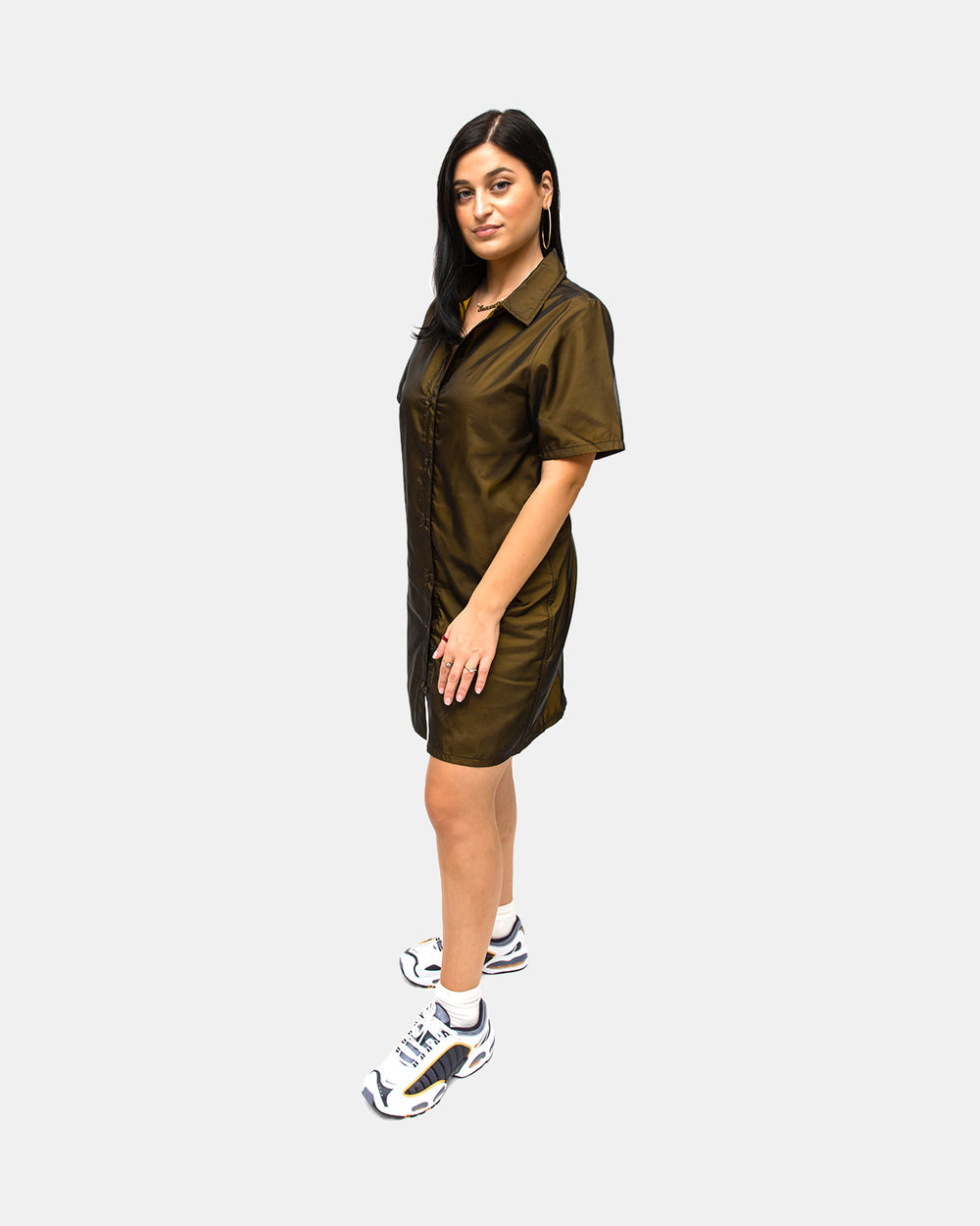 Stussy - Women's Nina Layer Dress (Chartreuse)