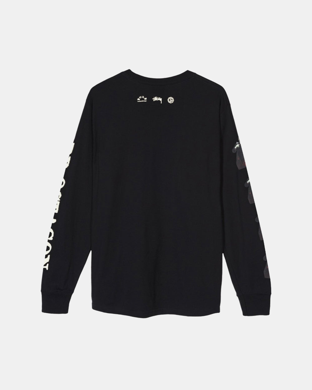 Stussy - Stussy x Dr. Octagon Ice Cream Fudge Long Sleeve Tee (Black)