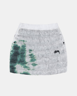 Women's Nike x Stussy Insulated Skirt (White | Gorge Green)