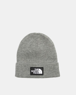 Logo Box Cuff Beanie (Medium Grey)
