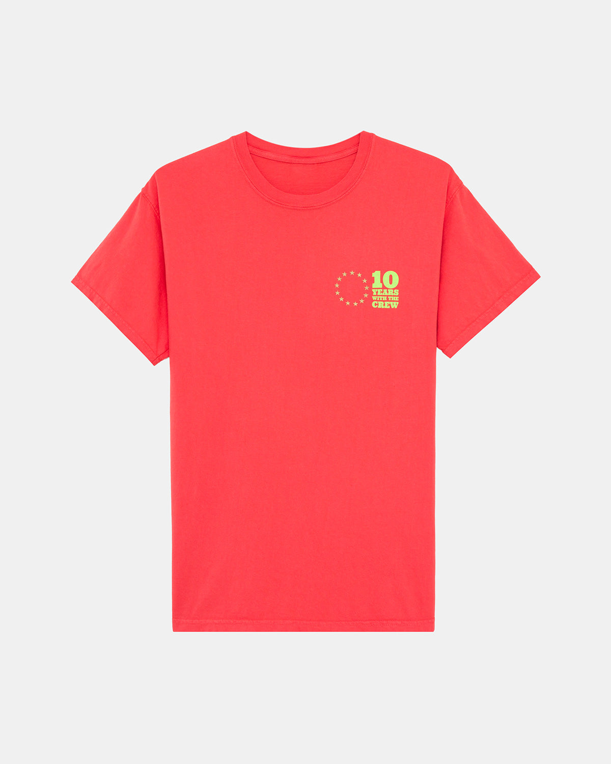 UBIQ - 10th Anniversary Tee (Red | Green | Gold)
