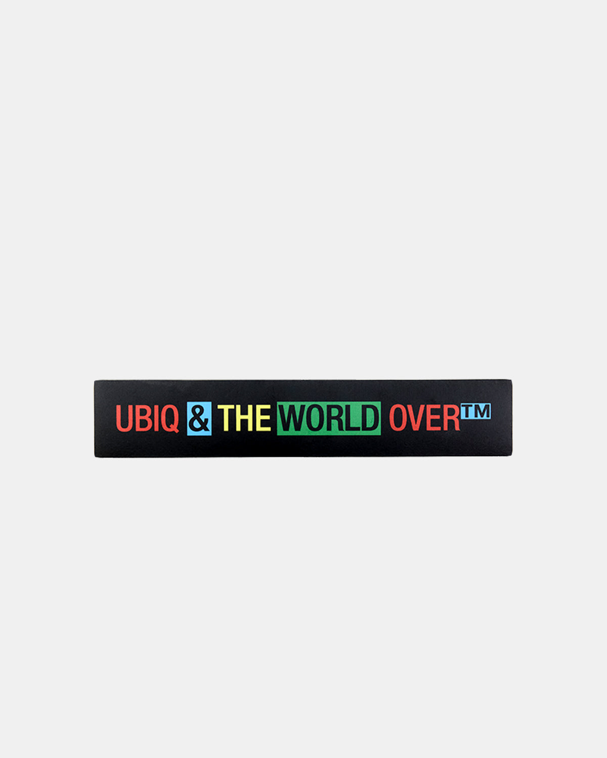 UBIQ - Basic Logo Sticker (Black)