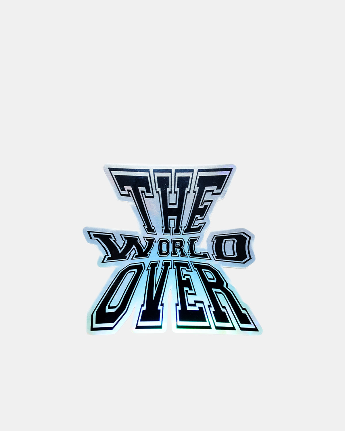 UBIQ - The World Over Sticker (Iridescent)