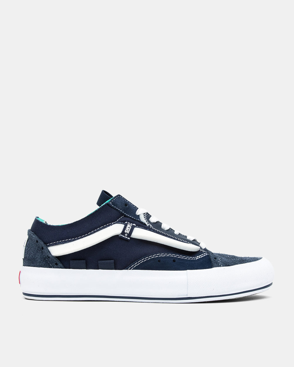 Vans Vault - Old Skool Cap Regrind LX (Dress Blues | White)