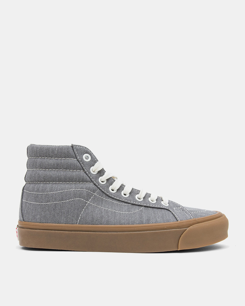 Vans Vault - OG SK8-Hi LX (Grey Herringbone Canvas)