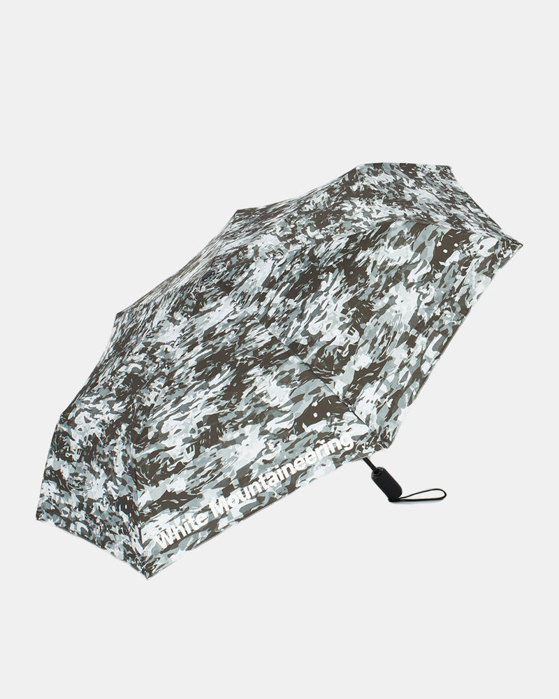 Layered Camo Printed Umbrella (Black)