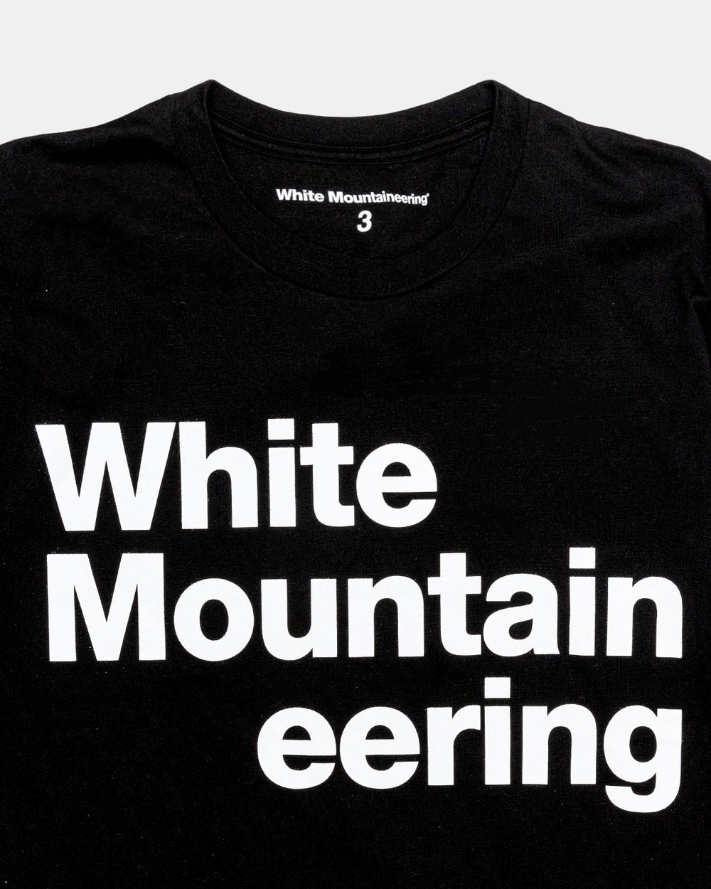 White Mountaineering - Printed WM Tee (Black)