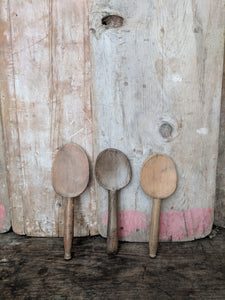 French wood diary spoons
