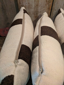 Pure wool cushions