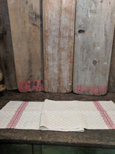 Pure linen, handwoven, mat or table runner