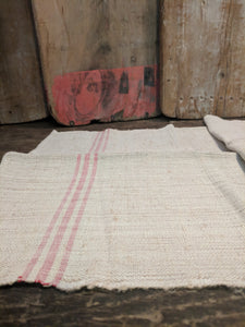 Pure linen, handwoven table runner