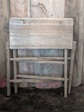 Rustic folding table
