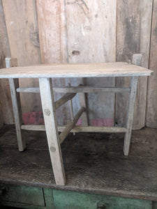 Romanian rustic folding table