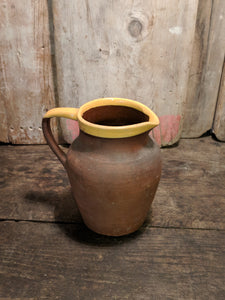 Brown French jug