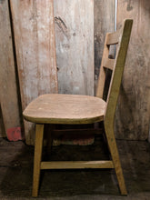 Wood school chair