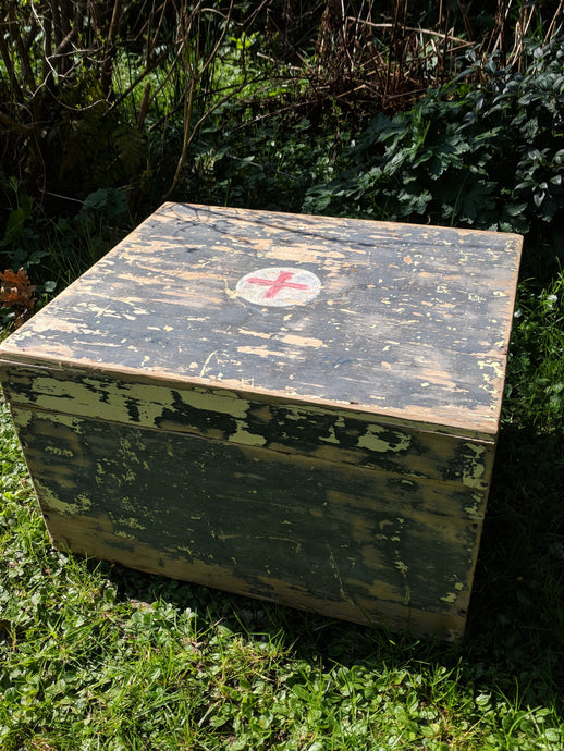First aid box, medical box