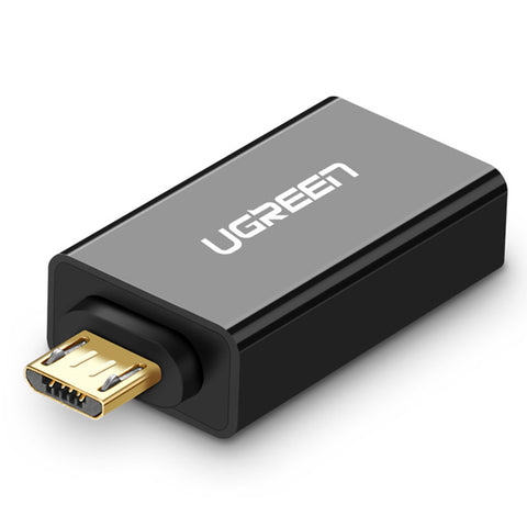 Ugreen Micro USB OTG Adapter Male to USB 2.0 Micro Adapter Converter for Samsung Xiaomi LG