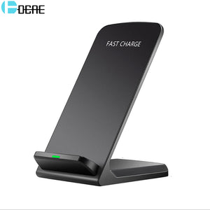 DCAE Qi Wireless Charger For iPhone X 8 For Samsung Note 8 S9 S8 Plus Xiaomi