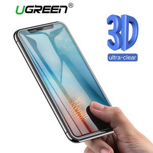 Ugreen Screen Protector Tempered Glass For iPhone 7 8 X 6 6s 6Plus 7Plus 8Plus HD