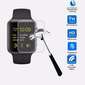 BinFul 2.5D 9H Tempered Glass For Apple Watch Series 1 2 3 38 42 mm Screen Protector
